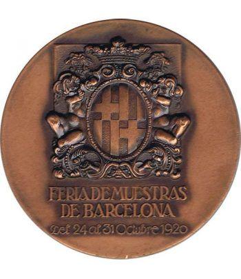 Medalla 50 Anivesario Feria Muestras Barcelona 1920-1970.  - 2