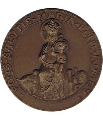 Medalla Santa Maria de Font Romeu 1972. Pequeña.  - 1