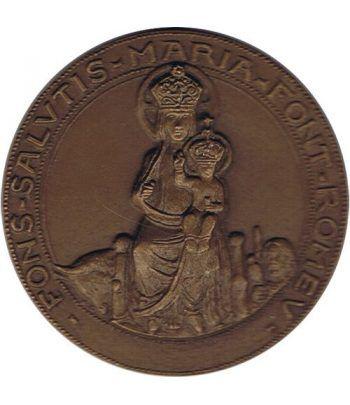 Medalla Santa Maria de Font Romeu 1972. Grande  - 1