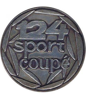 Medalla SEAT 124 Sport Coupe 1600. Automovil  - 1