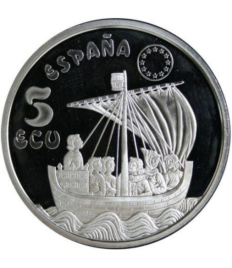 5 ECU. Serie Marina Española. España 1996.  - 1