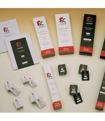 FILOBER 240x55 (paquetes de 25) Estuches protectores sellos - 2
