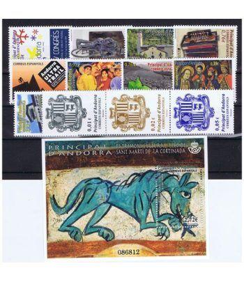 Andorra Española año completo sellos 2014  - 2