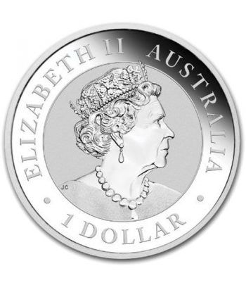 Moneda onza de plata 1$ Australia Koala 2020  - 4