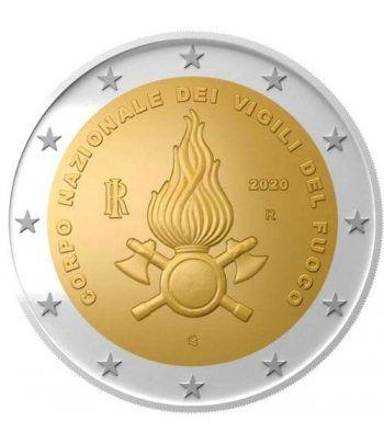 moneda conmemorativa 2 euros Italia 2020 Vigili del Fuoco  - 2