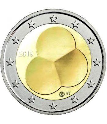 moneda conmemorativa 2 euros Finlandia 2019 Ley Constitución.  - 2