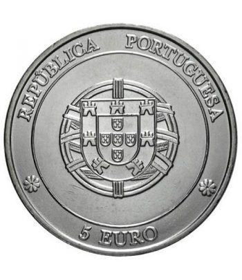 Portugal 5 Euros 2005 Unesco Angra. Plata  - 4