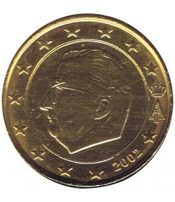 Moneda de 1 euro de Belgica 2002. SC. Chapada oro  - 2