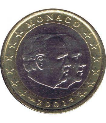 monedas euro serie Monaco 2001 (moneda de 1 euro). SC  - 2