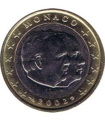 monedas euro serie Monaco 2002 (moneda de 1 euro). SC  - 2