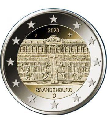 moneda conmemorativa 2 euros Alemania 2020 (5) Brandenburgo  - 2