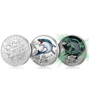 moneda Austria 3 Euros 2020 Monsasauro Dino-Taler.  - 6