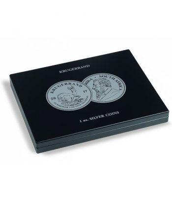 LEUCHTTURM Estuche de madera para 20 monedas Krugerrand. Estuche Monedas - 2