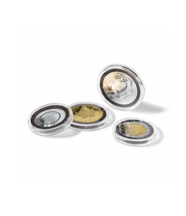 LEUCHTTURM Capsulas para monedas 37 mm. ULTRA INTERCEPT (10)  - 2