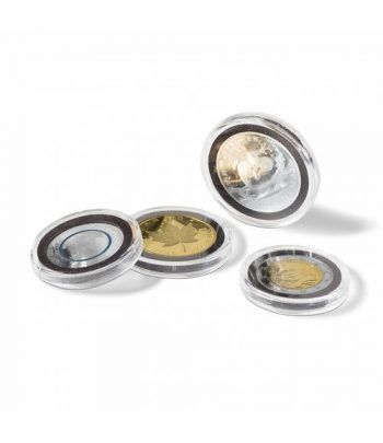 LEUCHTTURM Capsulas para monedas 39 mm. ULTRA INTERCEPT (10) Capsulas Monedas - 2