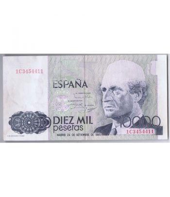 (1985/09/24) Madrid. 10000 Pesetas. EBC  ERROR.  - 4