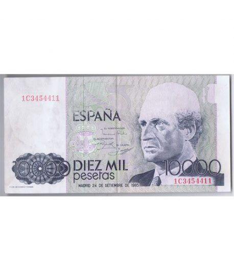 (1985/09/24) Madrid. 10000 Pesetas. EBC  ERROR.  - 1