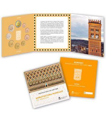 Cartera oficial euroset España 2020 + 2€ Mudejar  - 2
