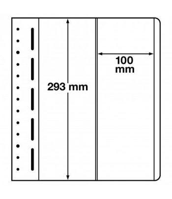 LEUCHTTURM hojas en blanco LB 2 VERT. 2 divisiones verticales Hojas Clasificadoras - 1