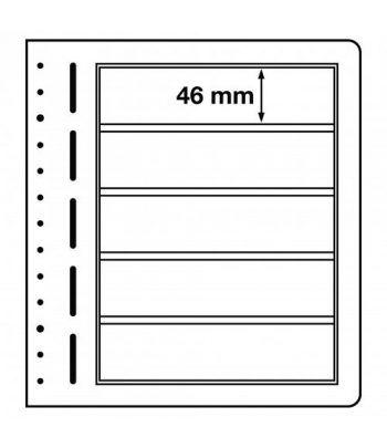 LEUCHTTURM hojas en blanco LB 5 divisiones. Hojas Clasificadoras - 2