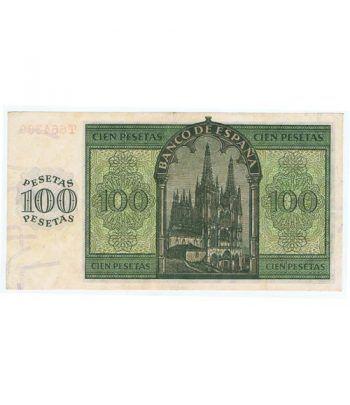 (1936/11/21) Burgos. 100 Pesetas. MBC+.  - 2