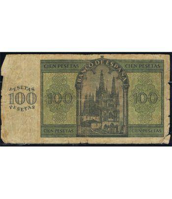 (1936/11/21) Burgos. 100 Pesetas. BC+.  - 1