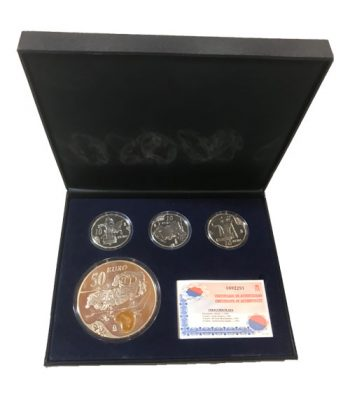 Monedas 2004 Salvador Dalí - FNMT Serie Completa Plata  - 1