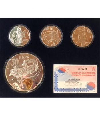 Monedas 2004 Salvador Dalí - FNMT Serie Completa Plata  - 2
