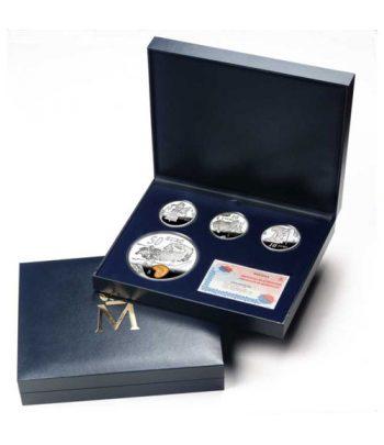 Monedas 2004 Salvador Dalí - FNMT Serie Completa Plata  - 3