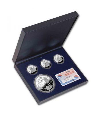 Monedas 2006 Cristobal Colón - FNMT Serie Completa Plata  - 3