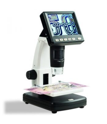 LEUCHTTURM 361358 Microscopio Digital LCD de 20 a 200 aumentos  - 1