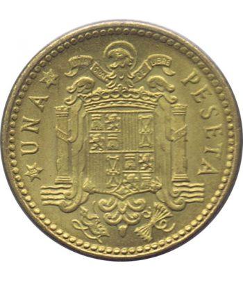 Moneda de España 1 Peseta 1953 *19-60 Madrid SC  - 1