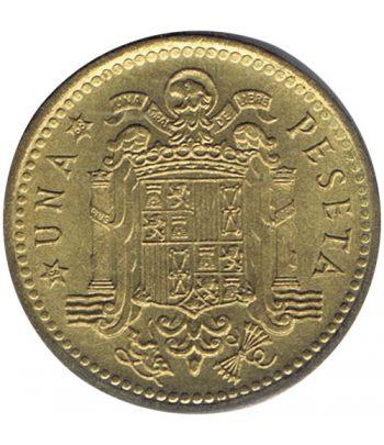 Moneda de España 1 Peseta 1966 *19-68 Madrid SC  - 1