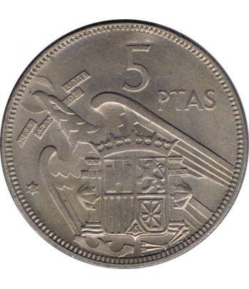 Moneda de España 5 Pesetas 1957 *19-63 Madrid SC-  - 1