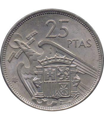 Moneda de España 25 Pesetas 1957 *19-58 Madrid SC  - 1