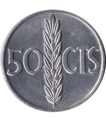Moneda de España 50 centimos 1966 *19-68 Madrid SC  - 1