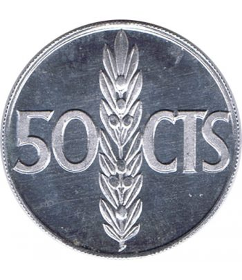 Moneda de España 50 centimos 1966 *19-73 Madrid SC  - 1