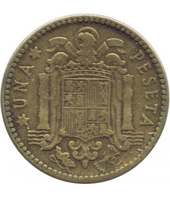 Moneda de España 1 Peseta 1947 *19-48 Madrid MBC  - 1
