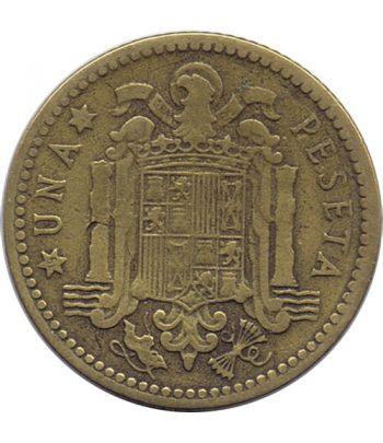 Moneda de España 1 Peseta 1947 *19-51 Madrid MBC  - 1