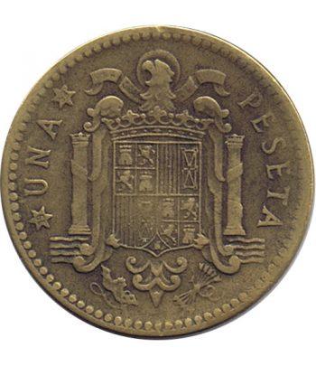 Moneda de España 1 Peseta 1947 *19-53 Madrid MBC  - 1