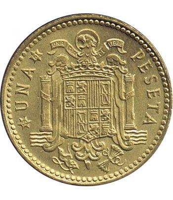 Moneda de España 1 Peseta 1953 *19-62 Madrid SC  - 1