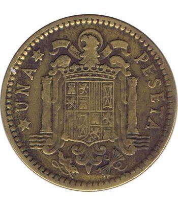 Moneda de España 1 Peseta 1953 *19-63 Madrid MBC  - 1
