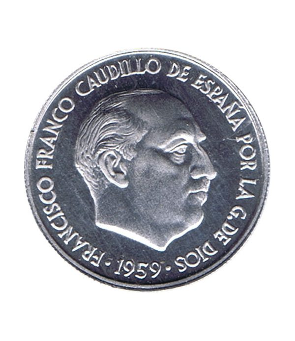Moneda de España 10 centimos 1959 Madrid SC  - 2