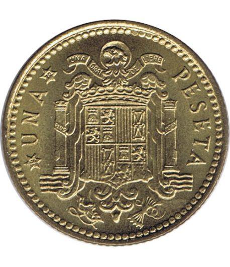 Moneda de España 1 Peseta 1966 *19-72 Madrid SC  - 1