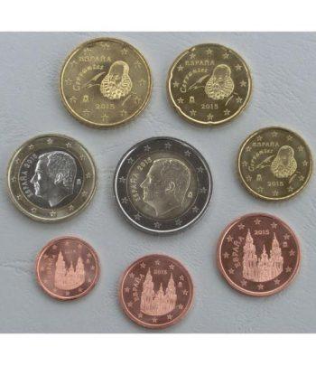 Serie de 8 monedas de España euros 2020  - 1