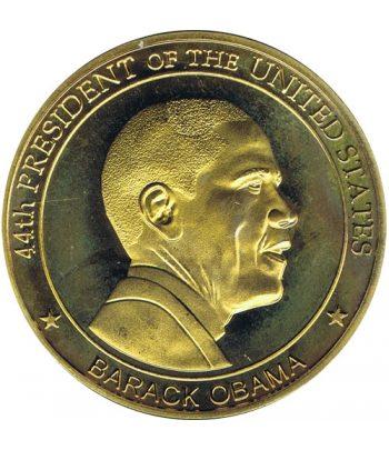 Medalla dedicada a Barack Obama 44th Presidente EEUU  - 1