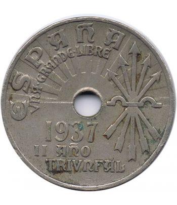Moneda de España 25 centimos 1937 Viena MBC  - 1