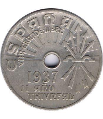 Moneda de España 25 centimos 1937 Viena SC  - 3