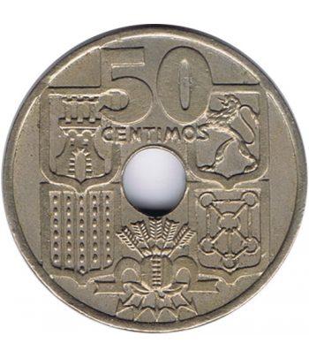 Moneda de España 50 céntimos 1949 *19-51 Flechas invertidas SC  - 1