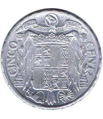 Moneda de España 5 centimos 1945 Madrid SC  - 2